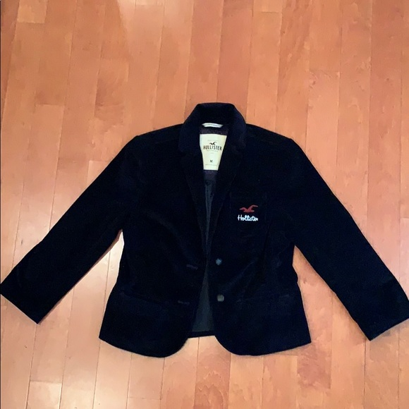 Hollister Jackets & Blazers - holister, black soft blazer, size medium.